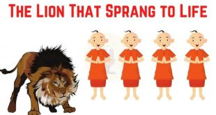 The Lion That Sprang to Life